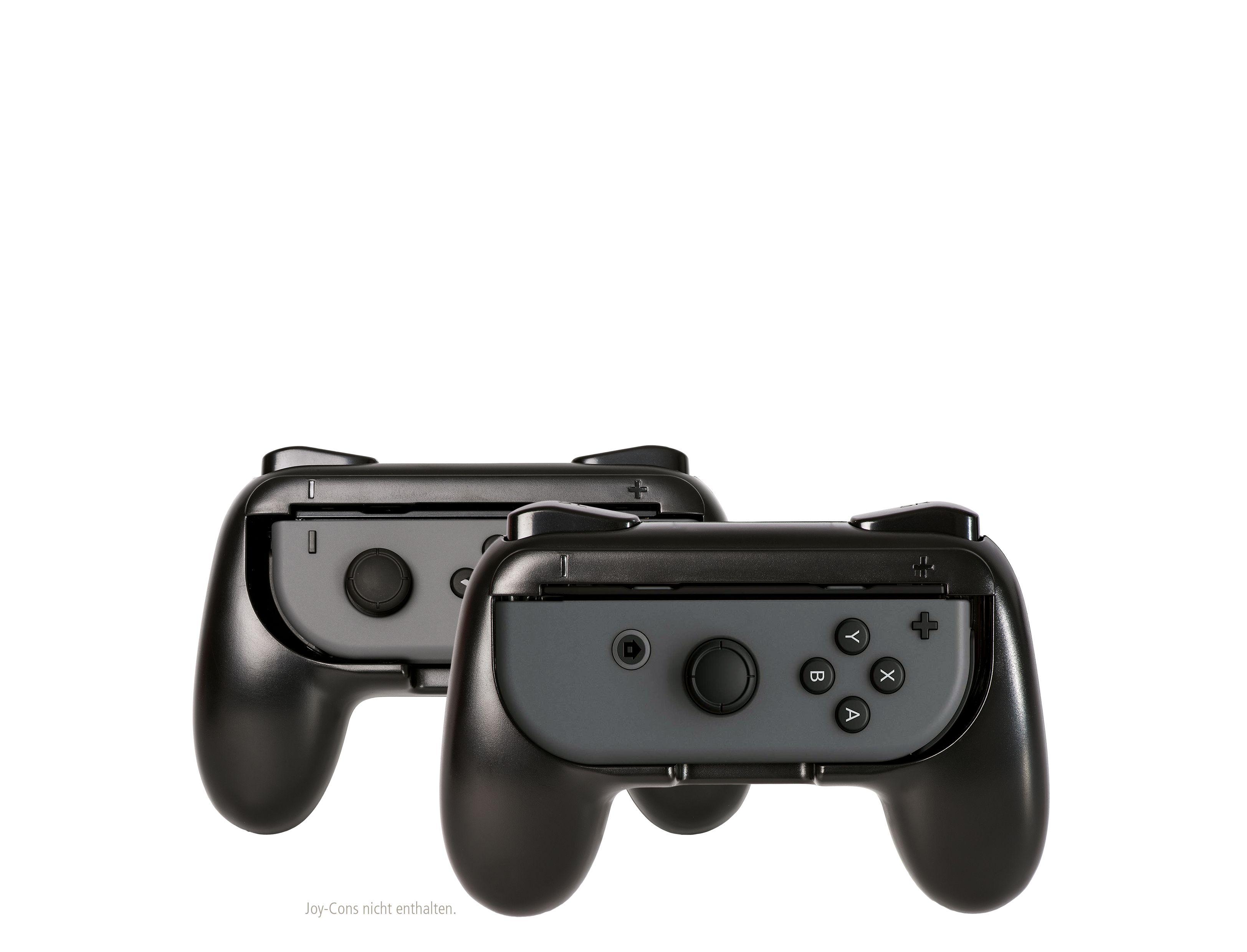 Zwei Controller Griffe Fr Den Linken Und Rechten Nintendo Switch Joy Con Controllers Grey Ergonomische Lange Spiel Sessions Leichtere Handhabung