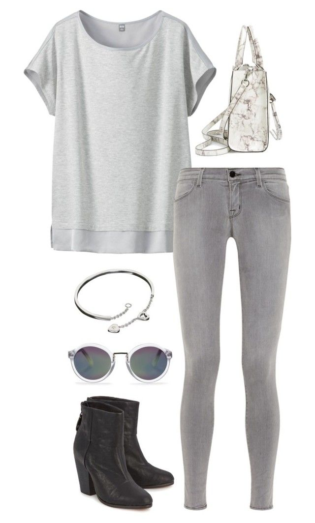 """""""Untitled #3044"""" by meandelstyle ❤ liked on Polyvore featuring Uniqlo, J Brand, rag & bone, Rebecca Minkoff, Cartier and Whistles"""