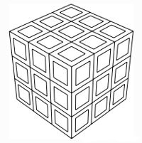 Cubatron Geometry Coloring Pages Tn Geometric Coloring Pages