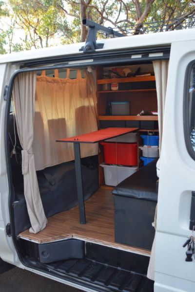 Toyota Hiace Campervan Conversion With NEW Engine