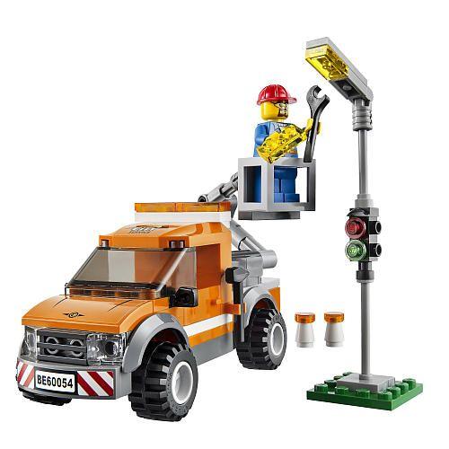 Lego City Light Repair Truck 60054 Lego Toys R Us Lego City City Vehicles Lego