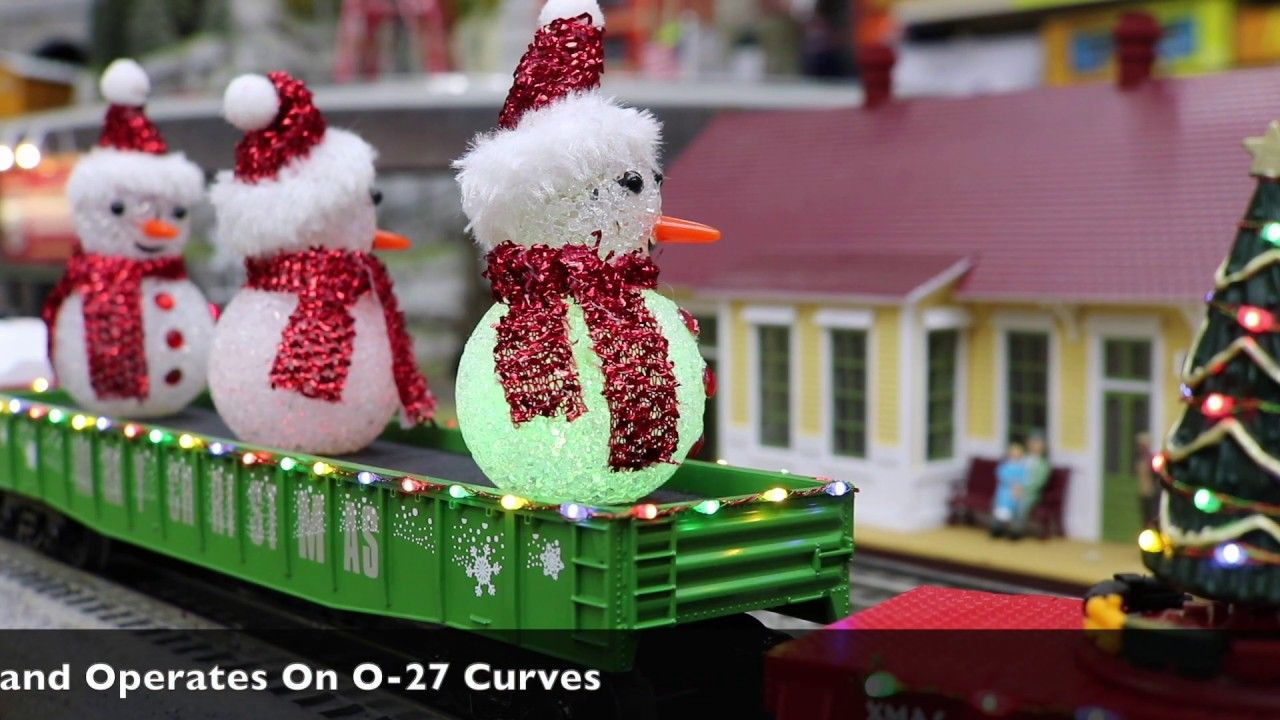 MTH 3072211 Christmas Gondola Car With LED Christmas