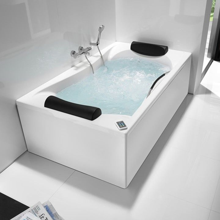 Roca Be Cool Designer Double Ended 1900mm Bath - Main Image ...