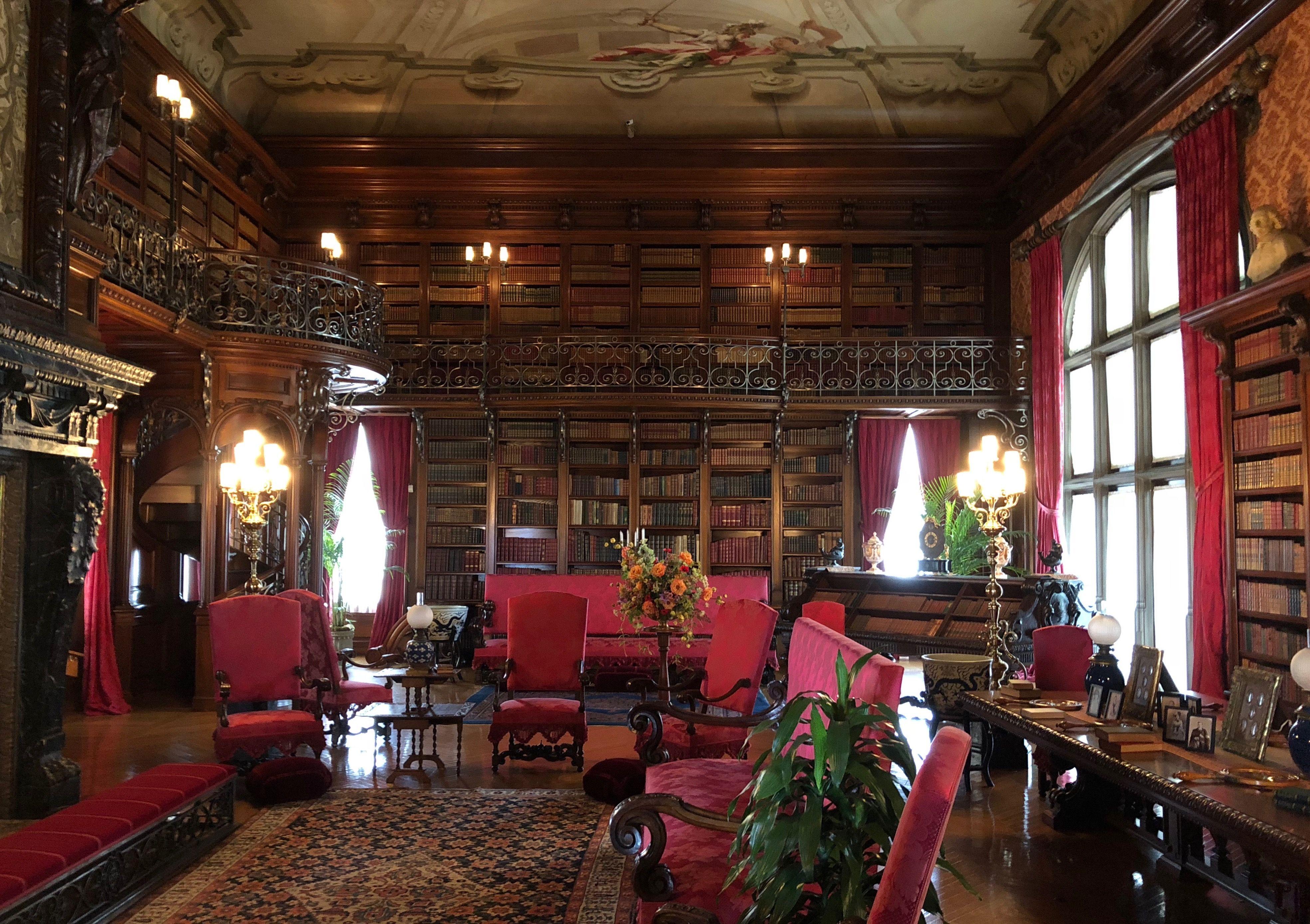 The Library Biltmore House North Carolina The Explorers Club
