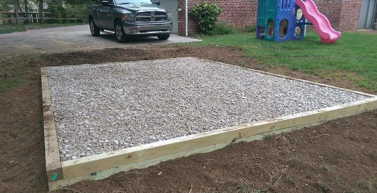 Best Gravel Shed Base Ideas In 2020 Shed Base Shed Foundation Ideas Diy Shed Plans