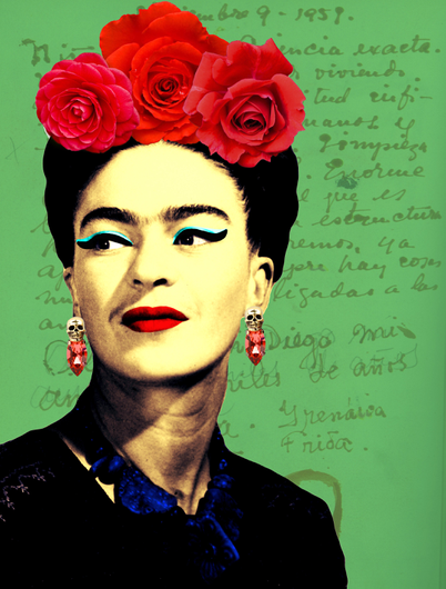 Arte: FRIDA LETTERS Artista: Ana Paula Hoppe