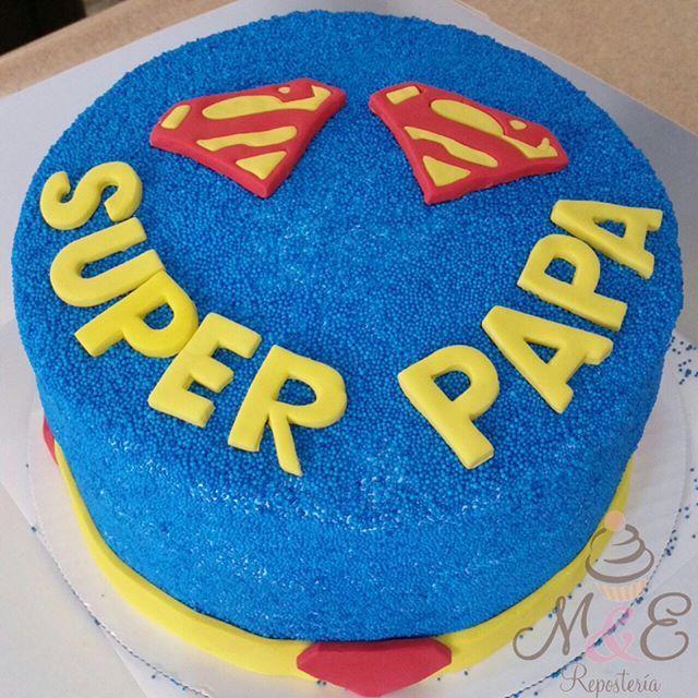 Super Cake De Superman Mye Myereposteria Rd Sfm
