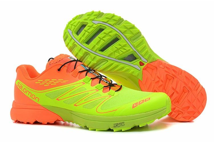 new concept 9f596 2dfc2 ... Sko Herre Gul Sort fvAlzBG  Salomon Mens S LAB Sense Ultra Outdoor  orange volt trail running shoes