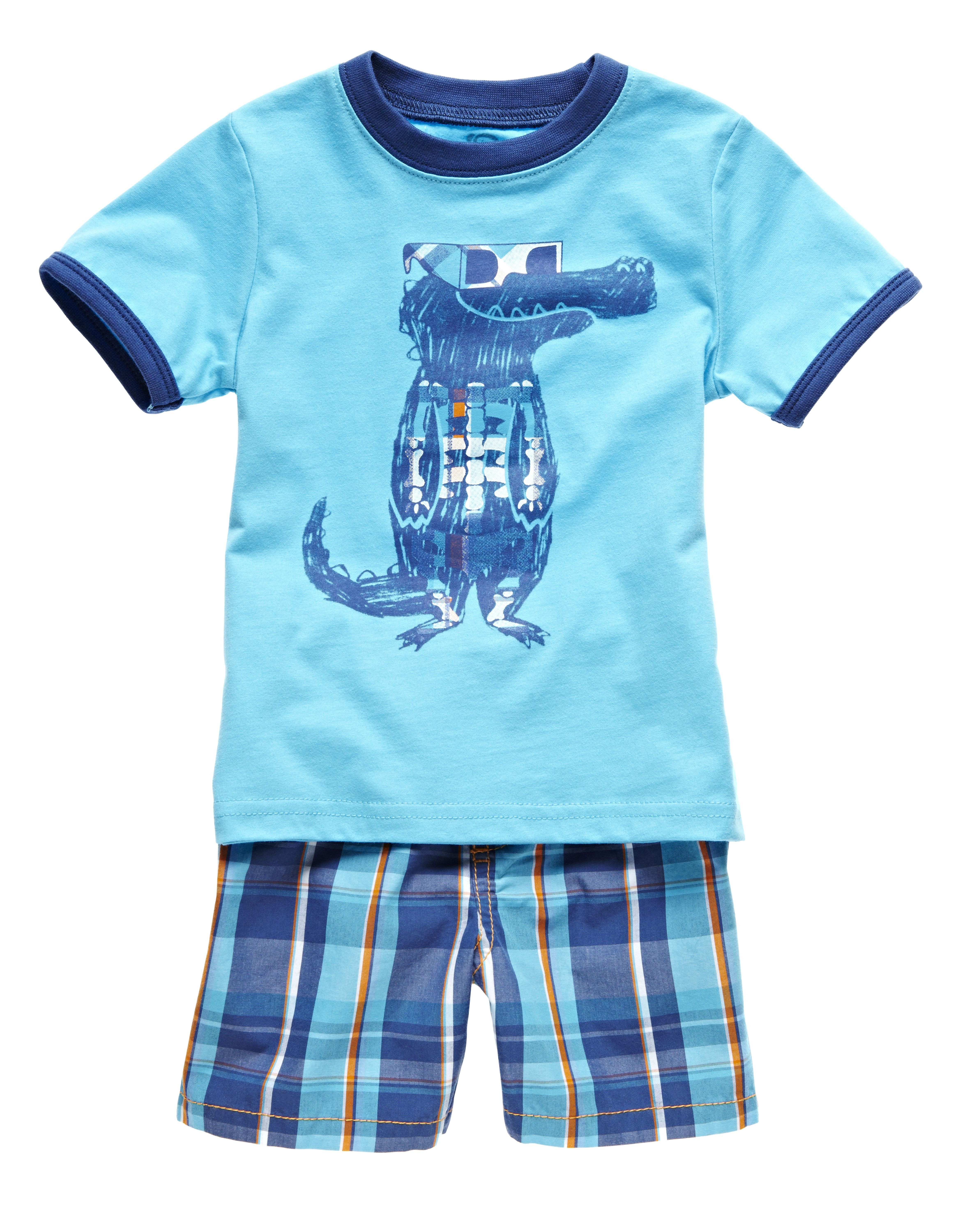Okie Dokie boys tee and shorts For the Kids Pinterest