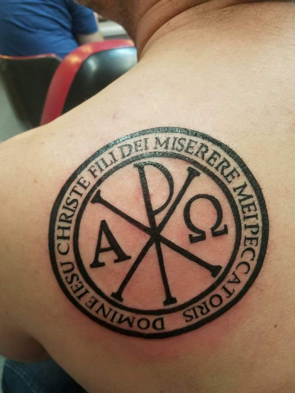 Christogram Tattoo Tattoo Ideas Pinterest Tattoos Chi Rho