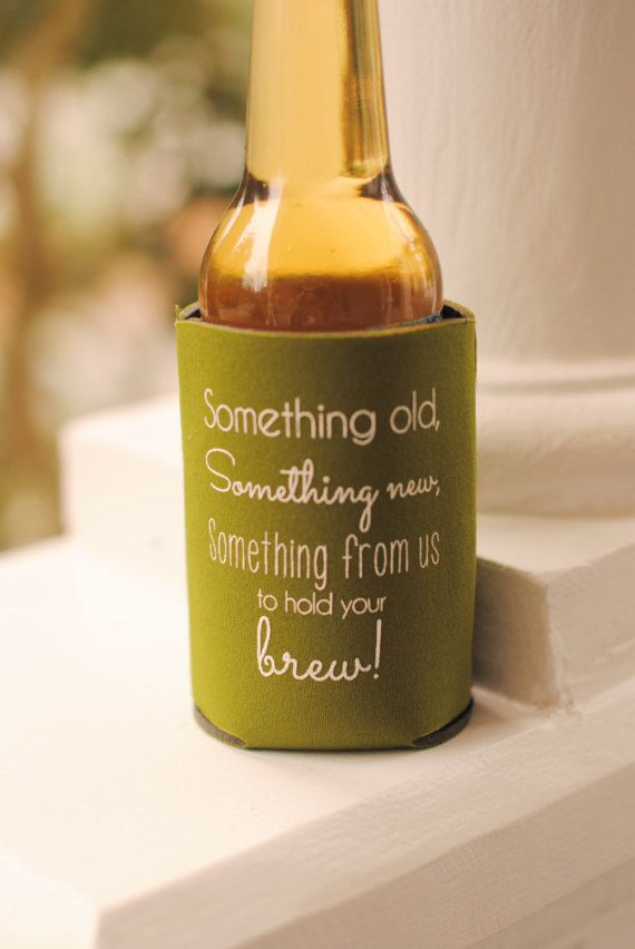 Rustic Wedding Favors Something Old Something New Wedding Can