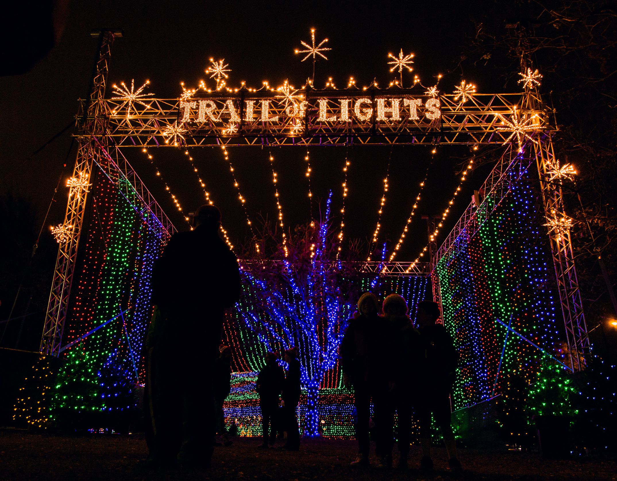 What To Expect From Austin S Trail Of Lights In 2018 Light Trails Trail Of Lights Austin Holiday Lights Display