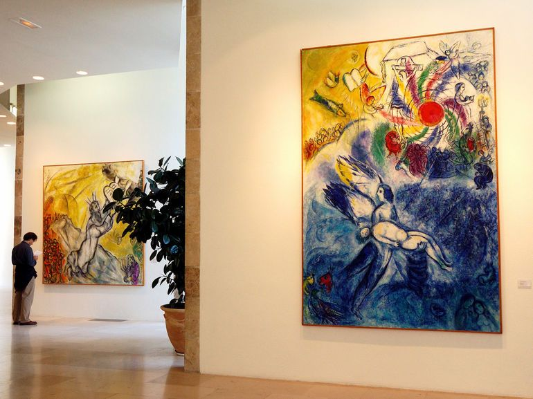marc chagall in nice - Google Search