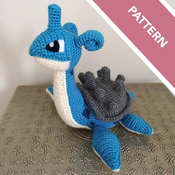 Photo of Lapras crochet pattern