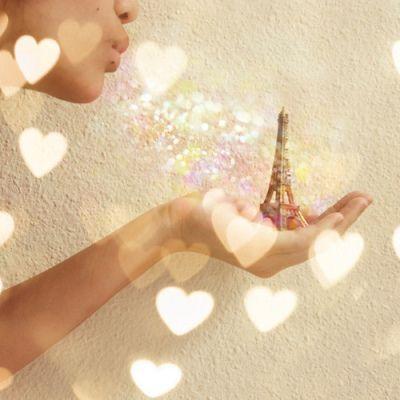 ♥ Parisian glitter love