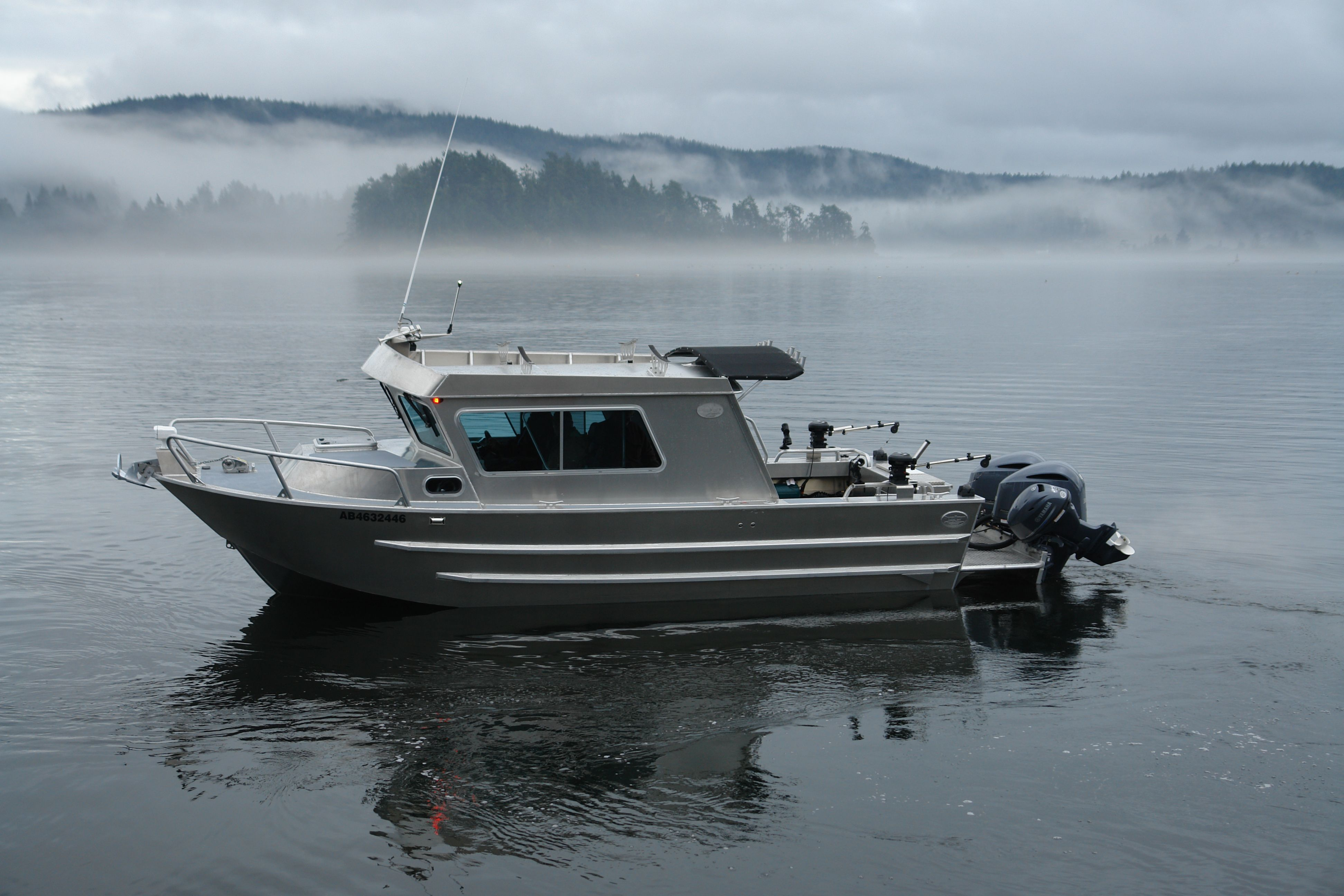 Silver streak aluminum boats for Aluminum fishing boats
