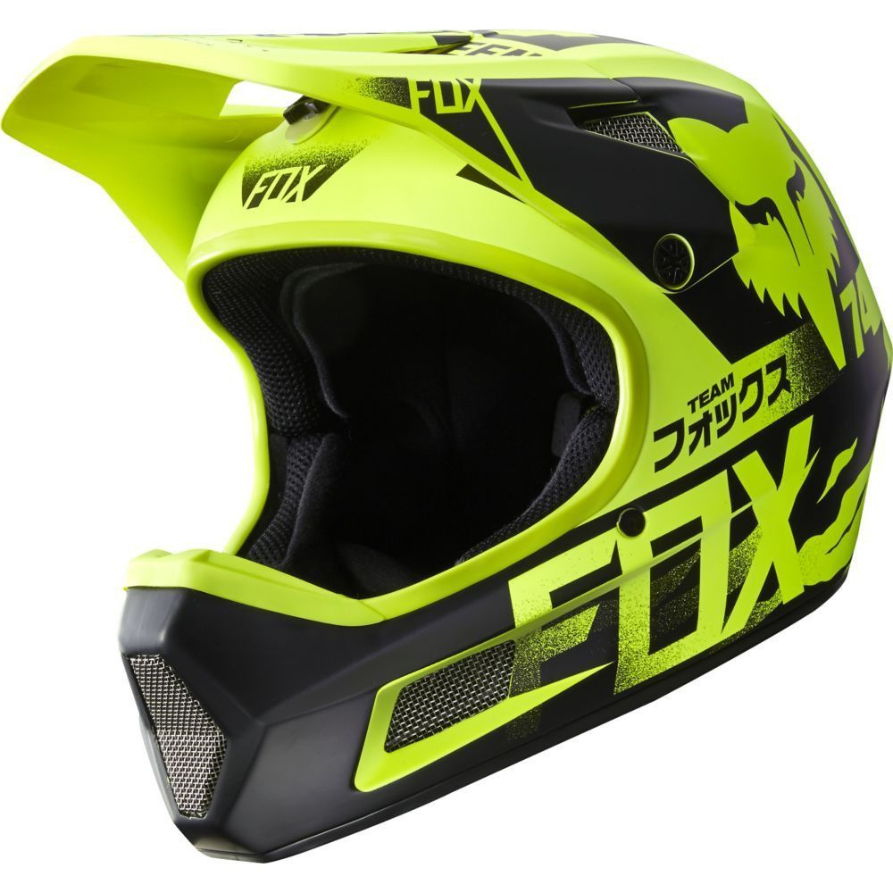 fox rampage comp full face helmet for dh mtb freeride. Black Bedroom Furniture Sets. Home Design Ideas