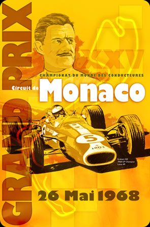 Click to find out more about Monaco Grand Prix Vintage Racing Sign