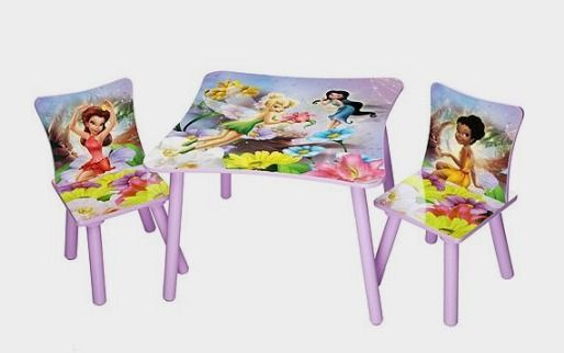 Disney - TinkerBell Fairies Table And Chair Set - Walmart http://fave.co/2edrxyT