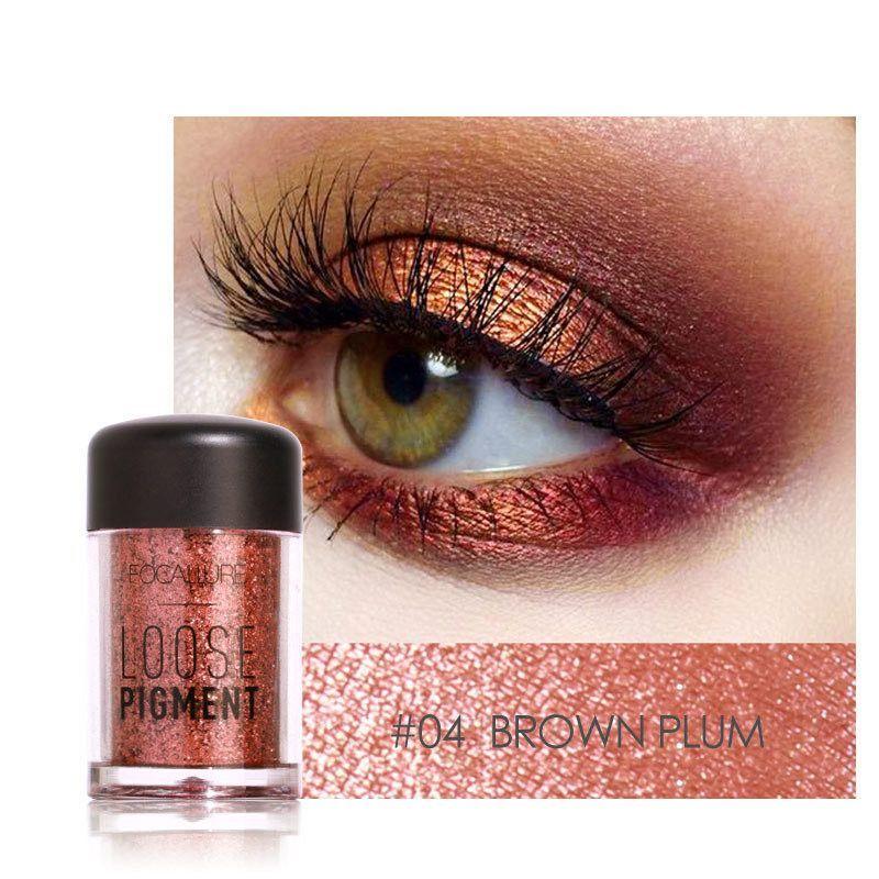 FOCALLURE Eye Shadow Shimmer Metallic Pigment Powder