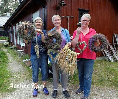 Atelier Kari naturdekorasjoner og  kranser: Kurs