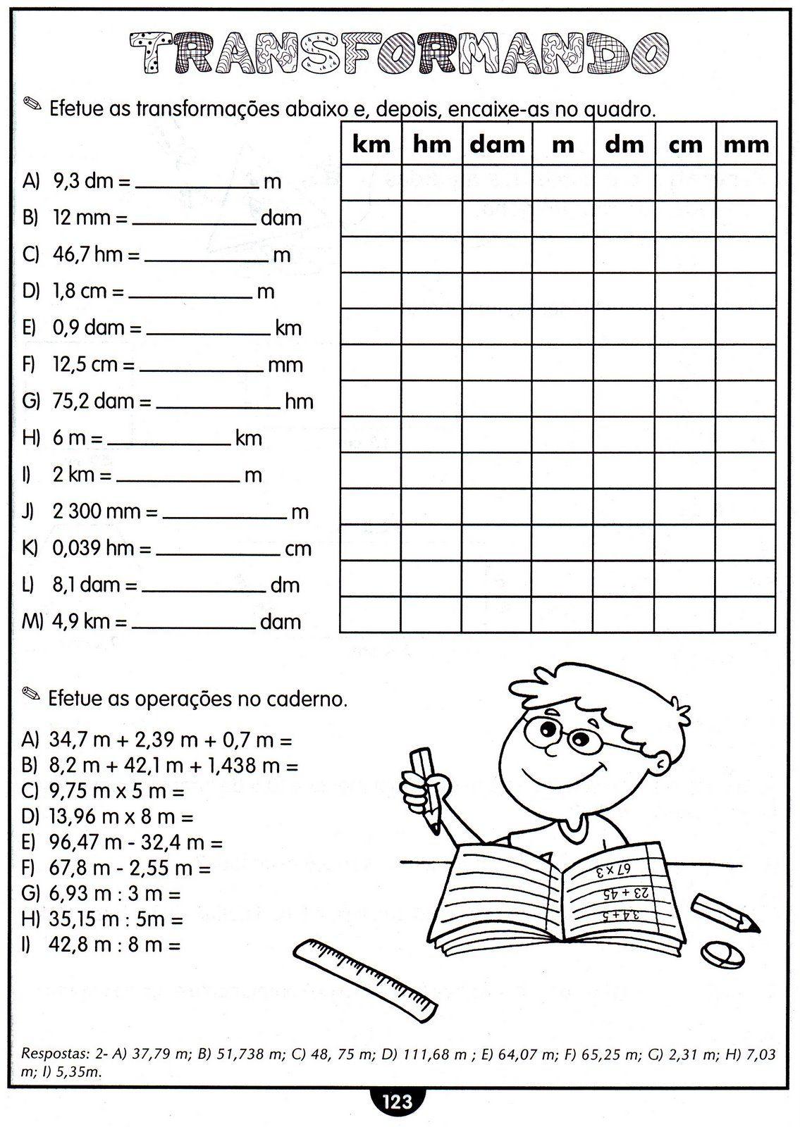 Pin von Michelle Ramos auf atividades de matematica | Pinterest