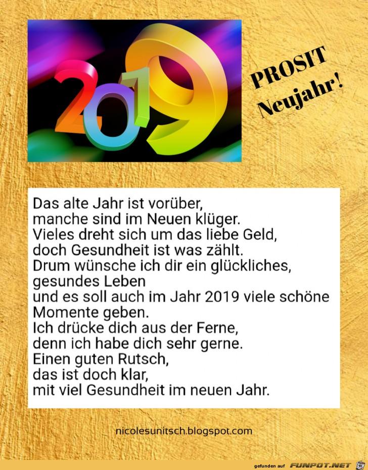 Gedicht Zum Neuen Jahr 2019 Gedichte Zum Neuen Jahr