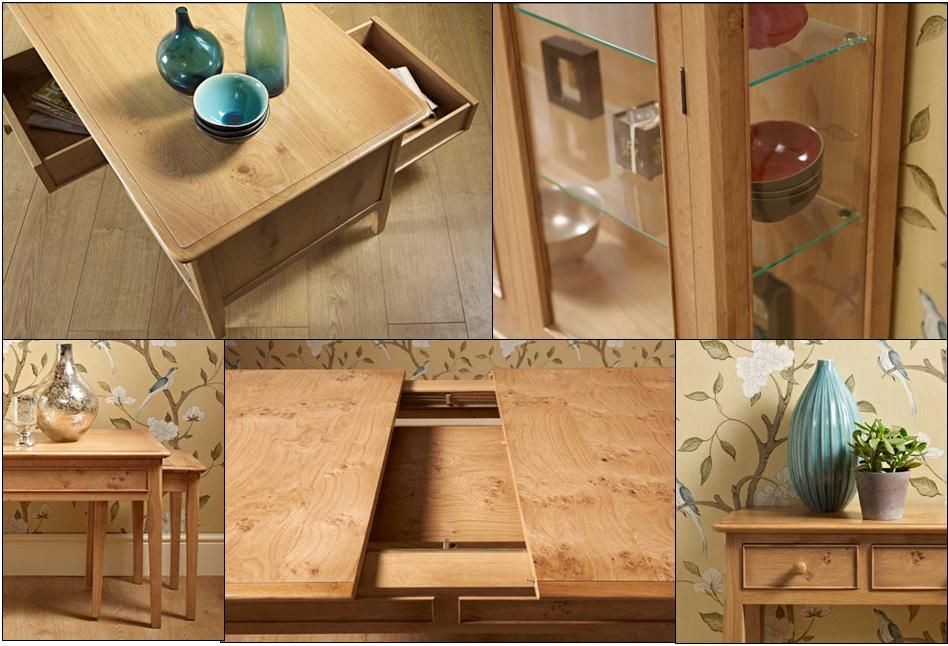 The Finer Details Of Our Ludlow Collection Of Pippy Oak Furniture.