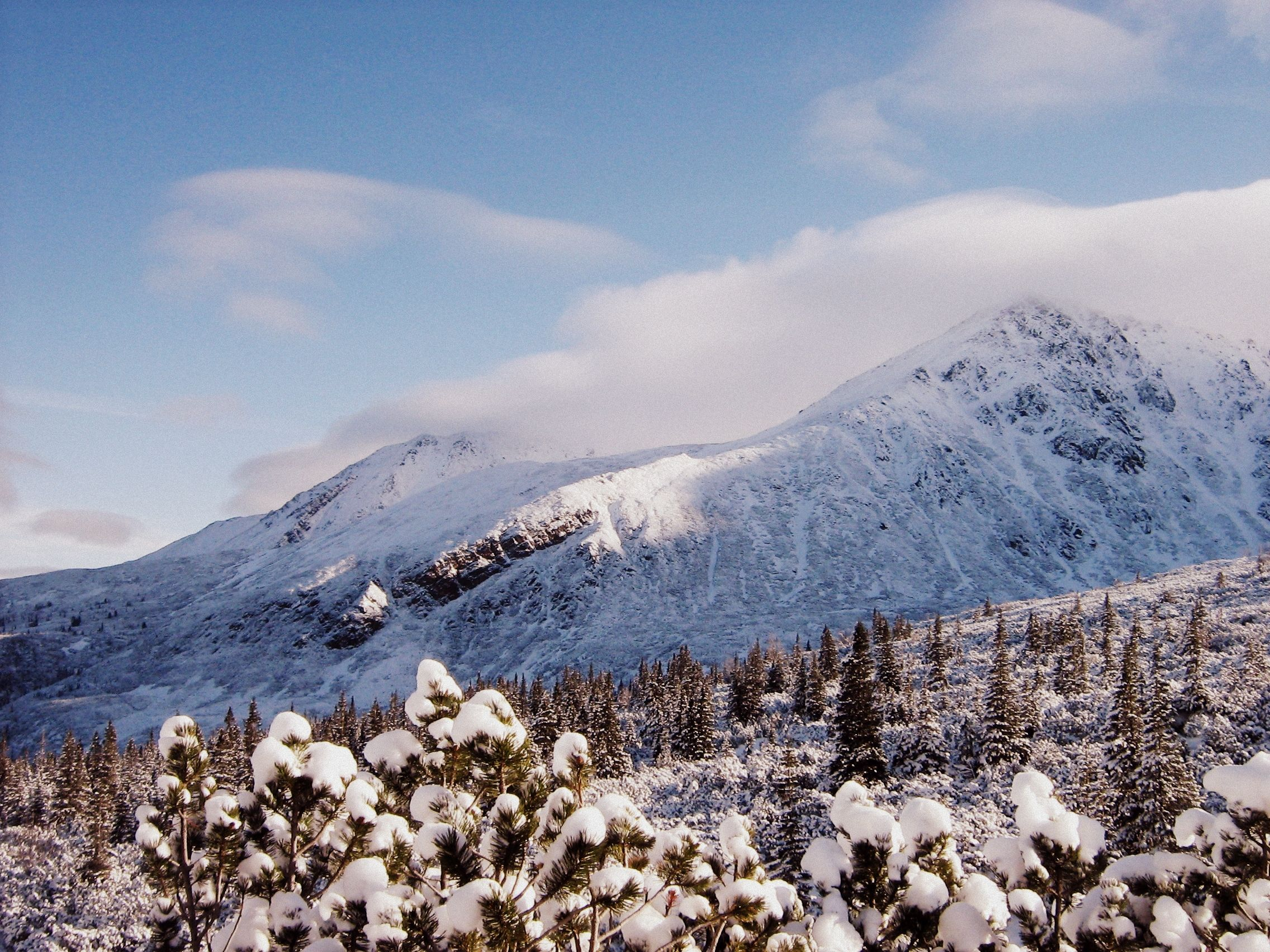 Beautiful winter day in Tatra Mountains, Poland.