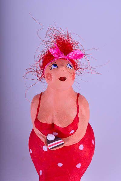 Datierung einer fetten Frau