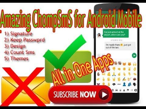 ChompSms for androind mobile All in One