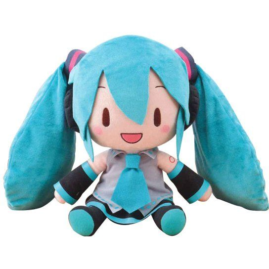 "New Hatsune Miku 10/"" Vocaloid Cute Soft Plush Doll Toy"