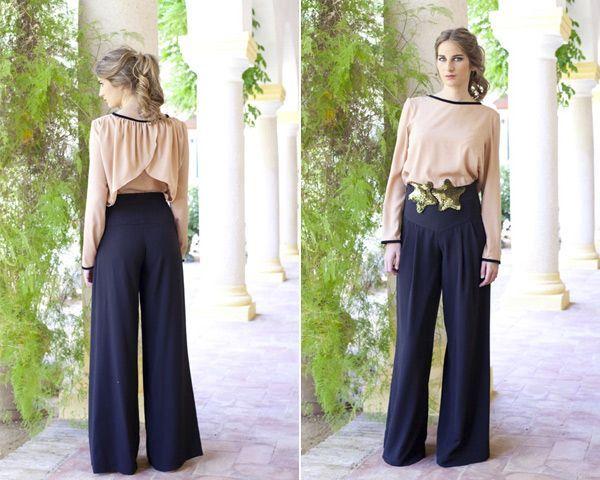 1331ee107a Looks para Invitadas  Triunfa con el pantalon Palazzo
