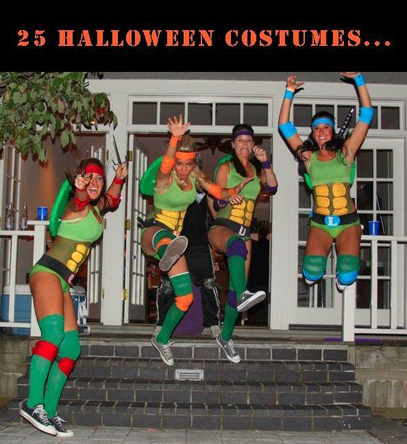 Girls Ninja Turtles Costume Kids Teenage Mutant Ninja Turtles Halloween