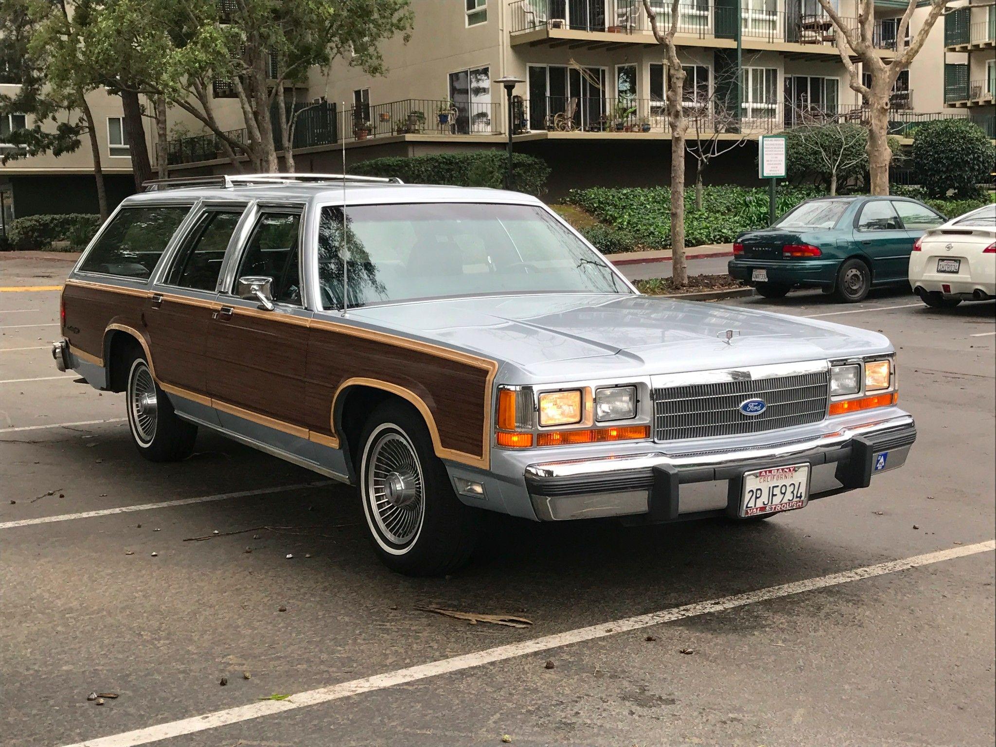 1989 Ford LTD Country Squire Wagon http://bringatrailer.com/listing ...