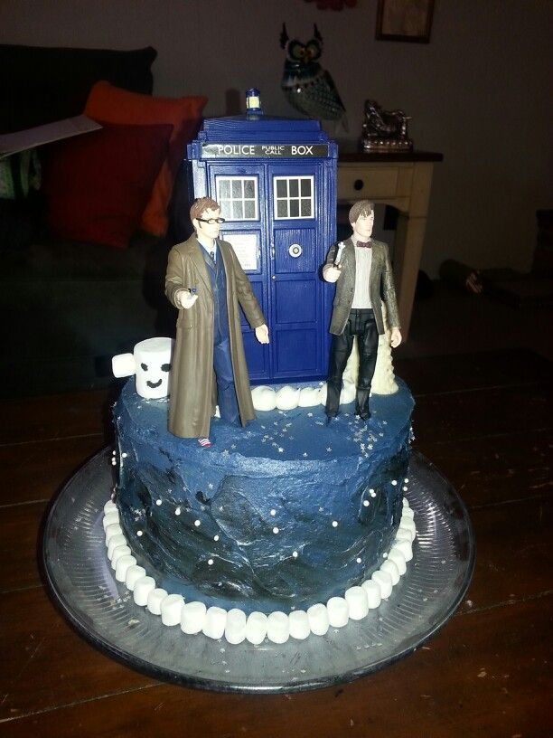 Dr Who Cake Cake decorating Pinterest Cake Food and