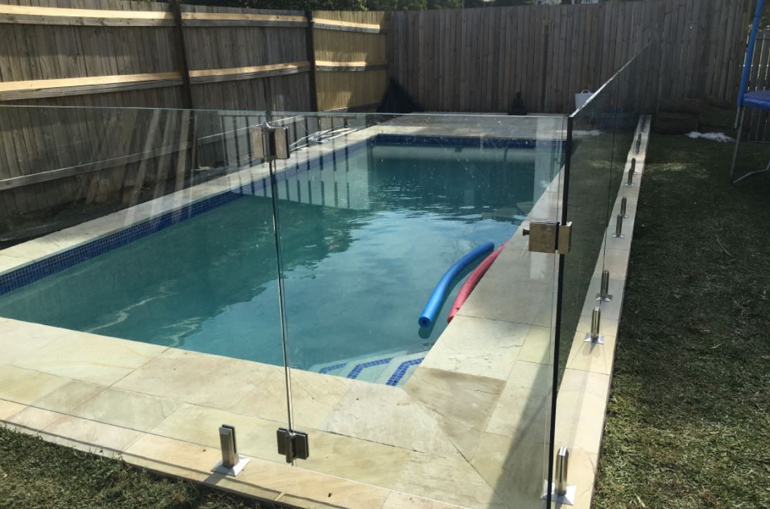 How To Select The Best Suited Glass Pool Fence For Ensuring Safety Glass Pool Fencing Glass Pool Frameless Glass Balustrade