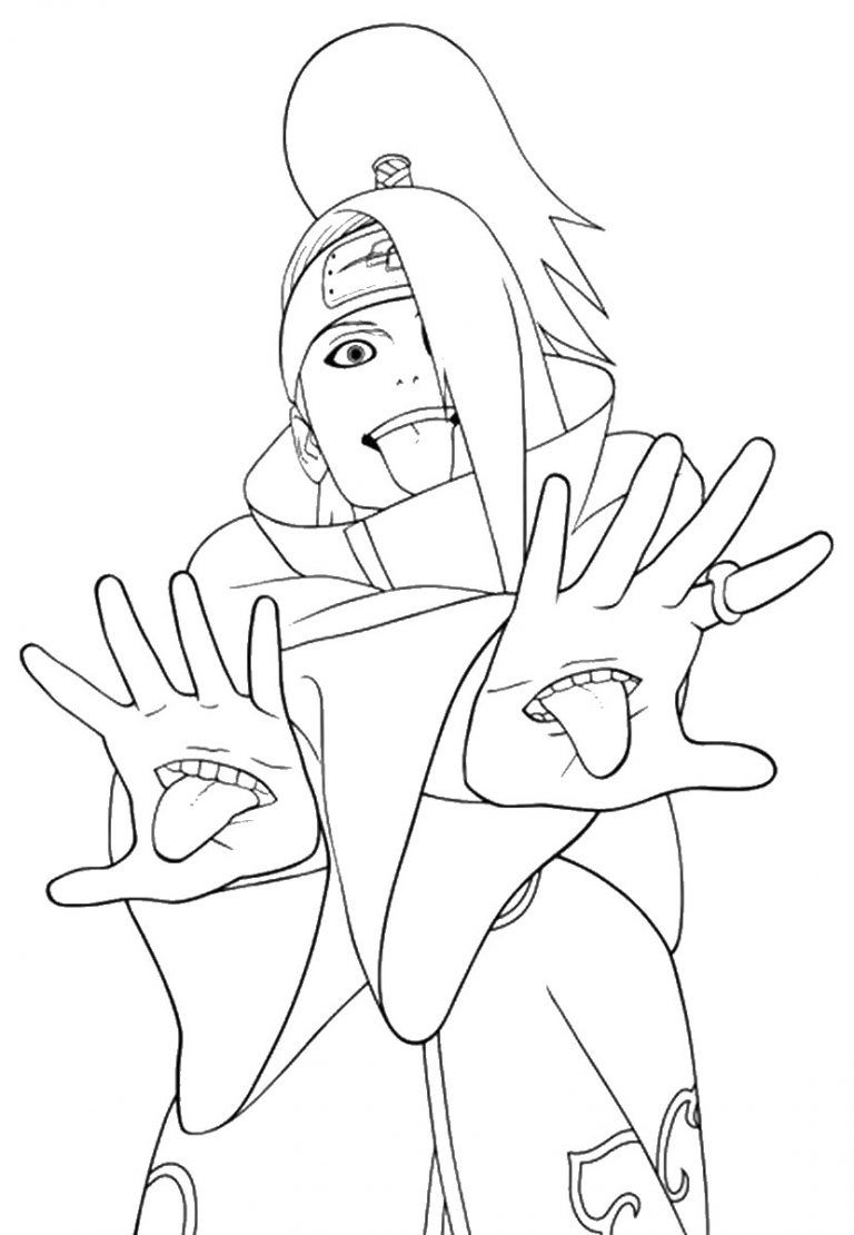 Coloring Pictures Naruto Naruto Coloring Pages 2 120693 In 2020 Naruto Drawings Itachi Uchiha Art Anime Character Drawing