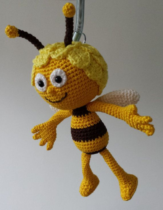 Maya The Bee Crochet Pattern Dutchenglish By Estherscrochets
