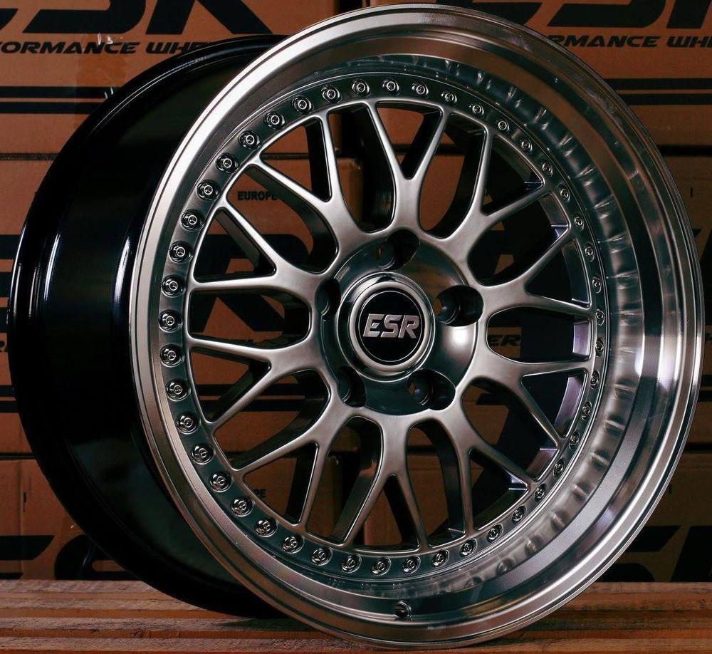 """Bmw Z4 Custom Wheels: 17"""" ESR SR1 Wheels For BMW E46 325 328 330 335 E90 E92"""
