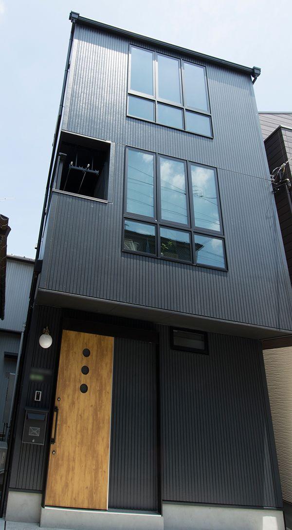 34 Samples Of Modern Houses Most Popular Exterior Design: 【建築実績】古民家風レトロな狭小住宅 - 狭小住宅専門