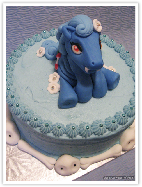 Geek Sweets Cakes My Little Famine Pony Cake Or Death