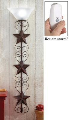 LED Star Wall Art Remote Control Lamp