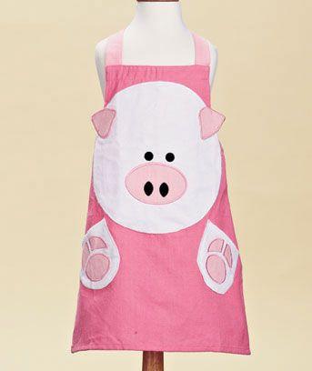 Kids' Animal Aprons | Kids apron, Apron, Kids