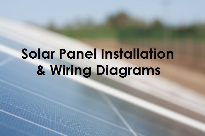 solar panel wiring installation diagrams electrical. Black Bedroom Furniture Sets. Home Design Ideas