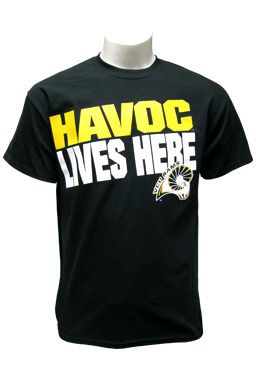 VCU Rams Havoc Lives Here T-shirt