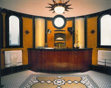 residential shower and bathroom | contemporary bathrooms