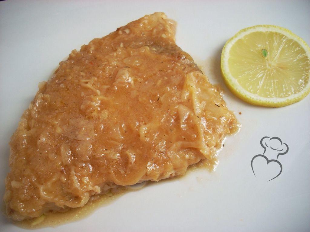 Como Cocinar Emperador | Emperador Salsa Limon Cocina Casera Pinterest Salsa De Limon