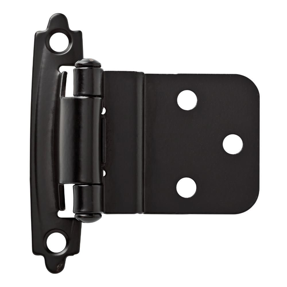 Liberty Matte Black Self Closing 3 8 In Inset Cabinet Hinge 1 Pair In 2020 Inset Cabinet Hinges Hinges For Cabinets Inset Cabinets