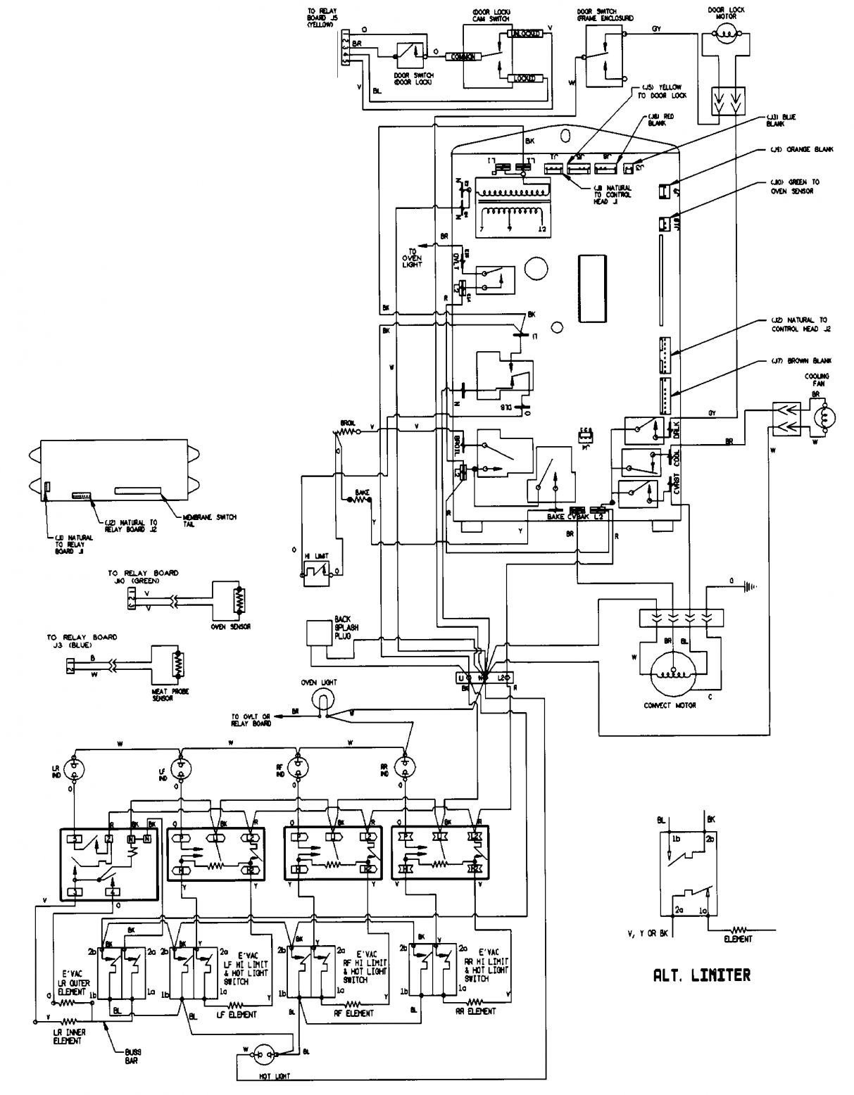 Whirlpool Electric Oven Wiring Diagram